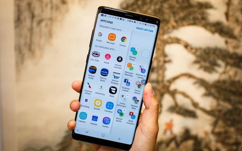 Galaxy Note 8 disponible en France stockage extensible