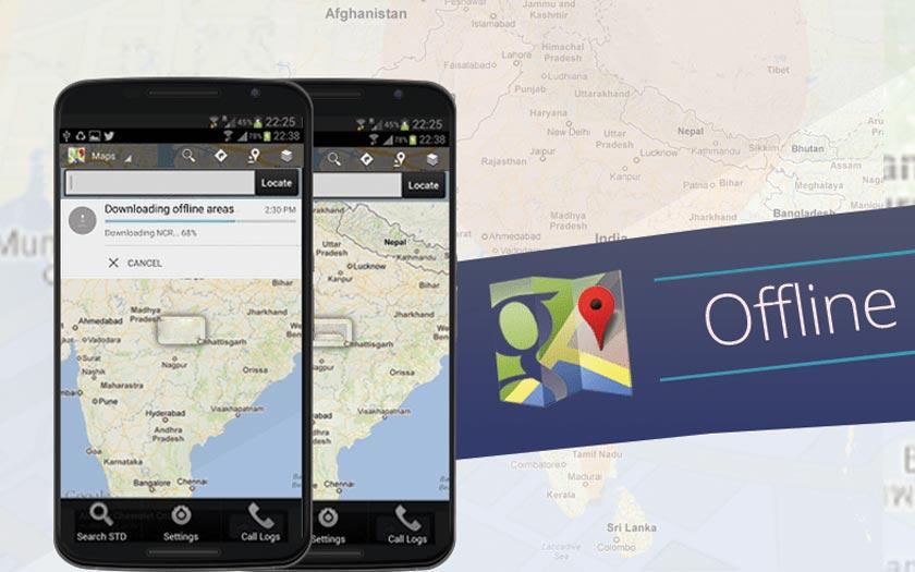 Google Maps Hors Connexion
