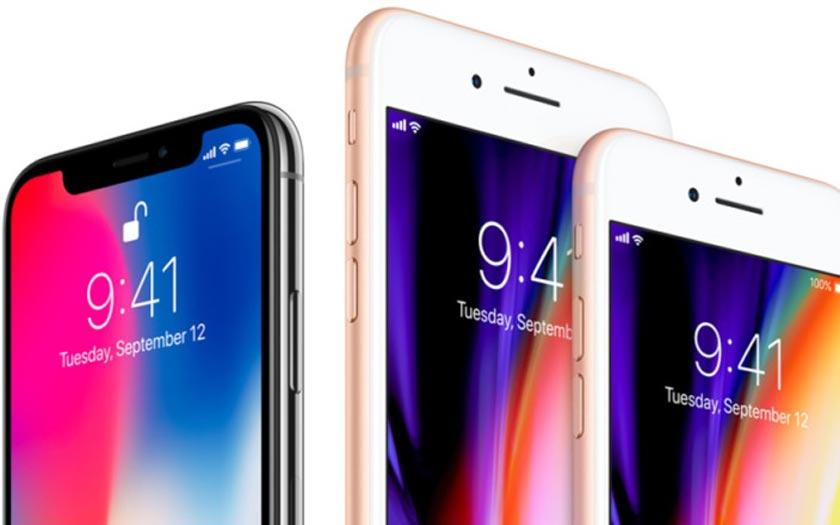 iphone x iPhone 8 et 8 plus