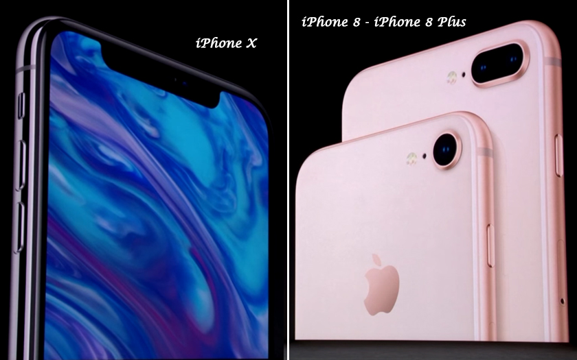 iphone x iphone 8 iphone 8 plus apple keynote smartphones