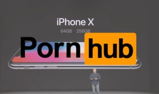 iPhone x Pornhub