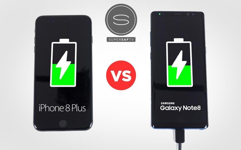 iPhone 8 vs Galaxy Note 8