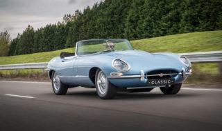 E-type Zero : Jaguar réédite une voiture de collection mythique en version électrique, en vidéo