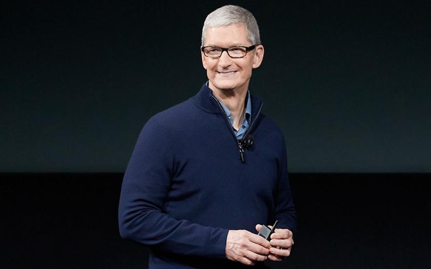 keynote apple tim cook firme de cupertino conférence