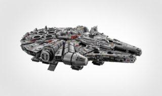 LEGO Star Wars : le Faucon Millenium est officiel, le plus grand set de l'histoire