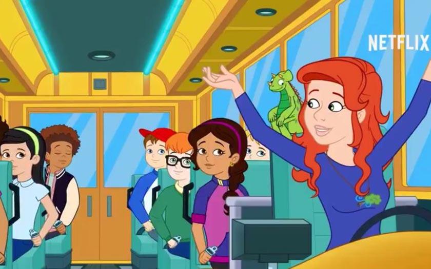 Les nouvelles aventures bus magique