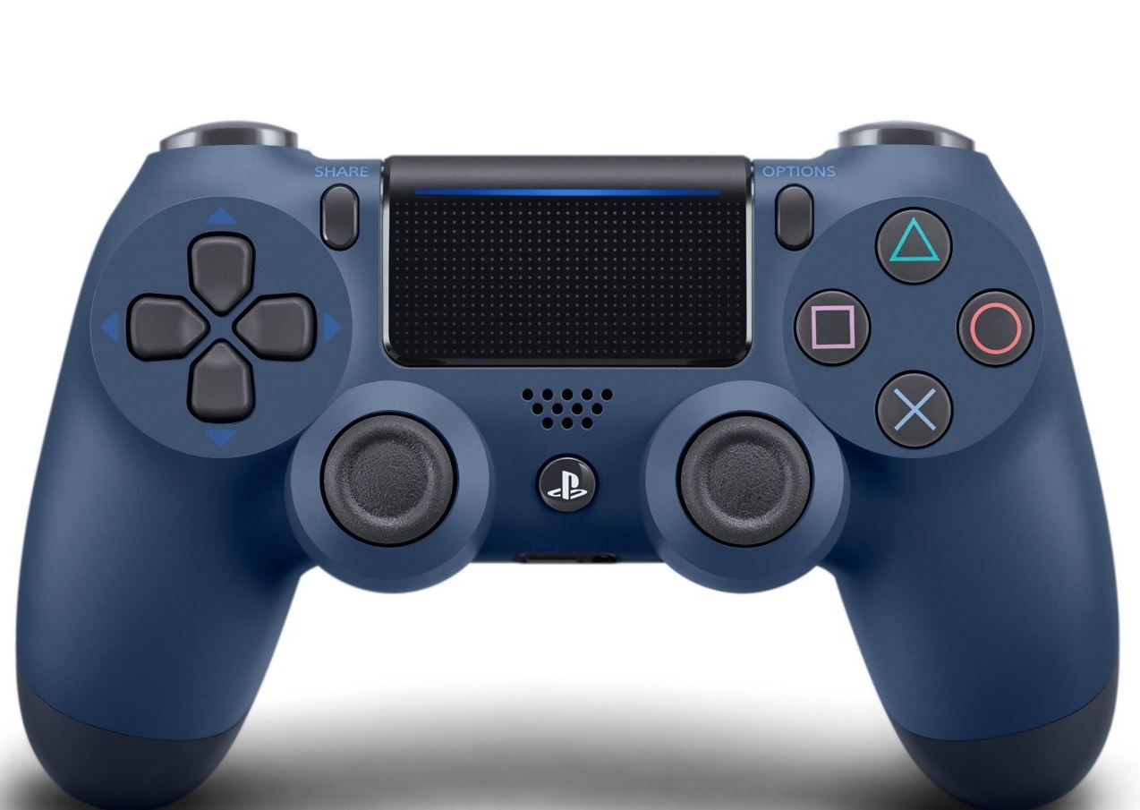 manette ps4 mignight blue