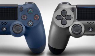 Manettes PS4 : deux nouvelles DualShock 4 V2 dévoilées
