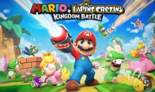 Switch : Mario + The Lapins Crétins Kingdom Battle est enfin disponible en version dématérialisée !