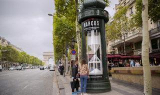 narcos saison 3 netflix opération marketing colonne d'affichage cocaïne paris