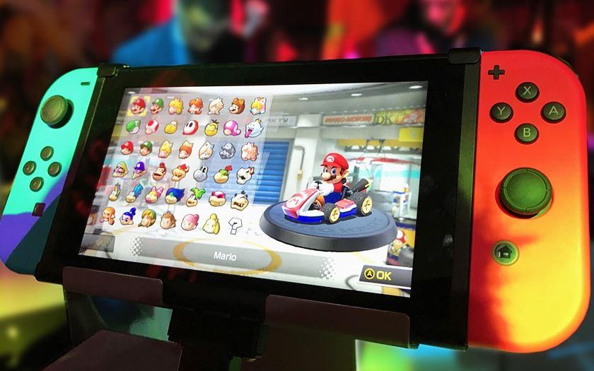 Rien de prévu autour de la réalité virtuelle — Nintendo Switch