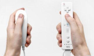 nintendo wii wiimote télécommande console de jeux vidéo