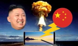 Galaxy Note 8 : il se fait torpiller par la presse à cause de Kim Jong-Un !
