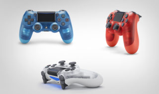 Manettes PS4 : trois nouvelles DualShock 4 transparentes annoncées