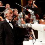 Robot chef orchestre