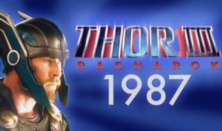 thor 3 ragnarok bande annonce 1980