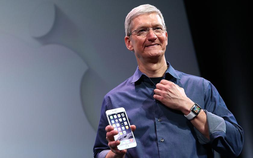 tim cook apple pdg iphone 6