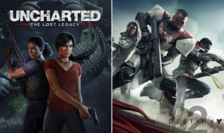 uncharted the lost legacy naughty dog destiny 2 bungie
