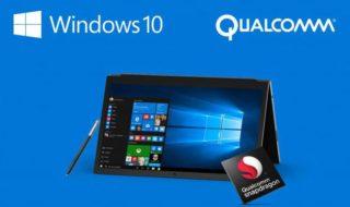 Windows 10 : les premiers PC sous Snapdragon 835 sortiront en fin 2017