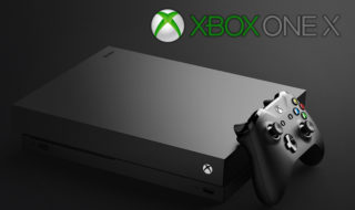 xbox one x microsoft console jeux vidéo