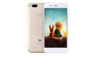 Bon plan GearBest : Xiaomi Mi A1 Noir, Or ou Rose à 176 €