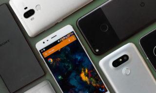 matériau smartphone verre métal plastique