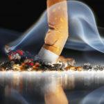 arrêter de fumer cigarette écrasée