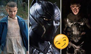 The Punisher passe à l'attaque, Black Panther sort les griffes, les bandes-annonces de la semaine