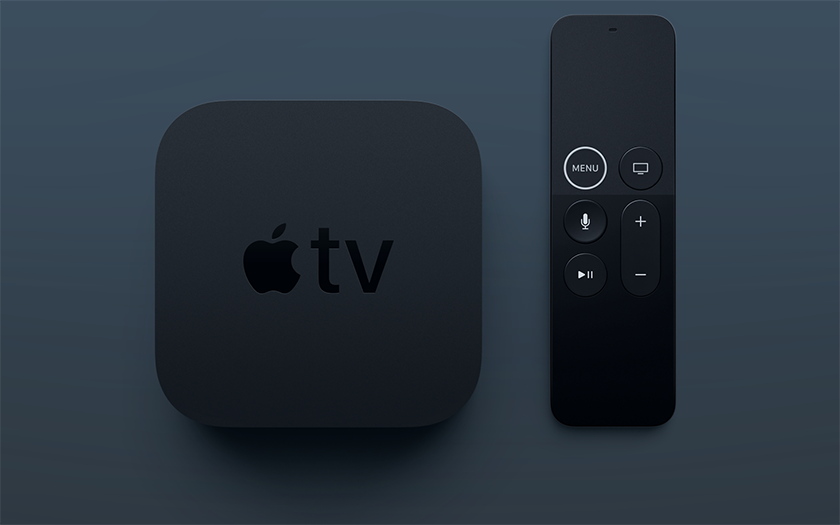 box multimedia tv apple 4K