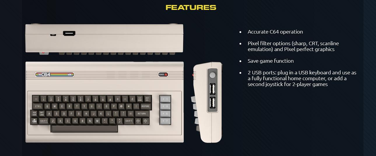 Le Commodore 64 va aussi revenir en mini console de jeux rétro ! [vidéo]