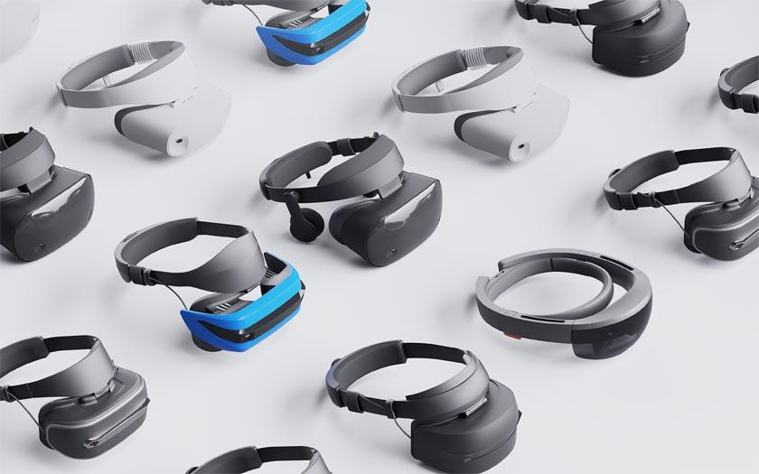 Casques Microsoft réalité mixte