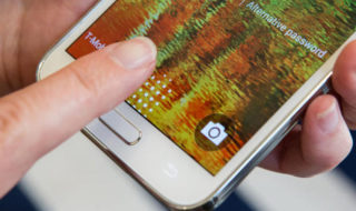 enregistrer empreintes android sécurité