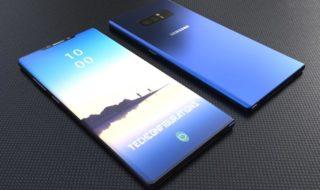 Galaxy Note 9 : Samsung préfère le capteur d'empreintes sous l'écran à la reconnaissance faciale de l'iPhone X