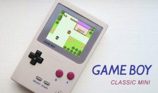 Nintendo : une GameBoy Classic Mini pourrait sortir en 2018 !