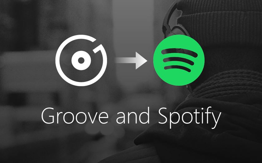 groove music termine microsoft spotify