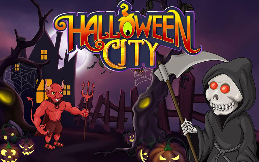 halloween city application android ios