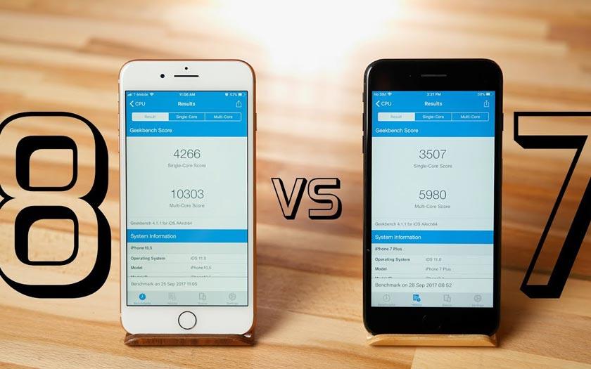 Benchmark L Iphone 8 Plus Est Presque Deux Fois Plus Puissant Qu