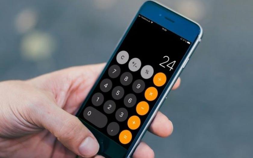 Étrange bug sous iOS 11 — Calculatrice