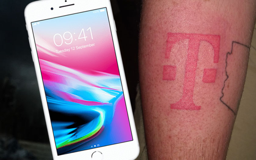 iphone 8 tatouage t-mobile