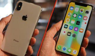 iPhone x prise en main