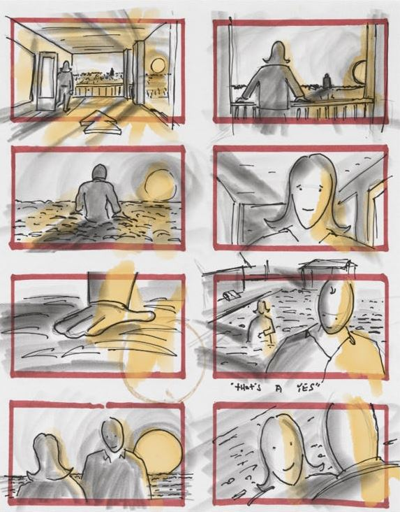 justice league zack snyder storyboard