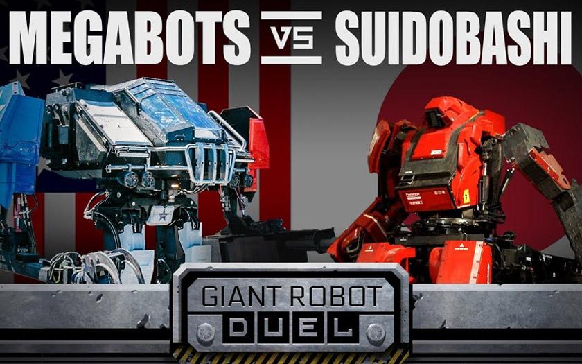 megabots suidobashi combat robots geants mech