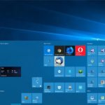 Menu Démarrer Windows 10 Fall Creators Update