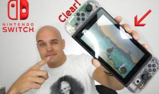 Nintendo Switch : comment rendre la console et les Joy-Con 100% transparents [vidéo]