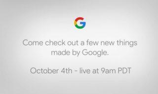 Comment suivre la conférence Google Pixel 2, 2XL et Home Mini en direct dès 18h ?