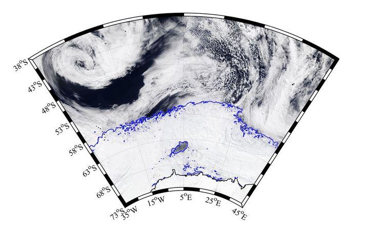 polynie antarctique