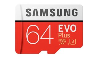 Bon plan : Carte MicroSD Samsung Evo Plus classe 10 64 Go à 16,18 euros seulement