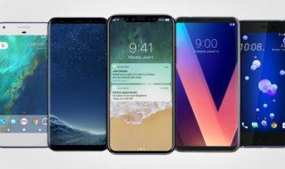 Apple, Samsung, LG, Google : quel est le meilleur smartphone borderless de 2017 ?