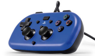 sony ps4 mini wired gamepad hori