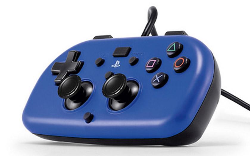 sony ps4 mini wired gamepad hori